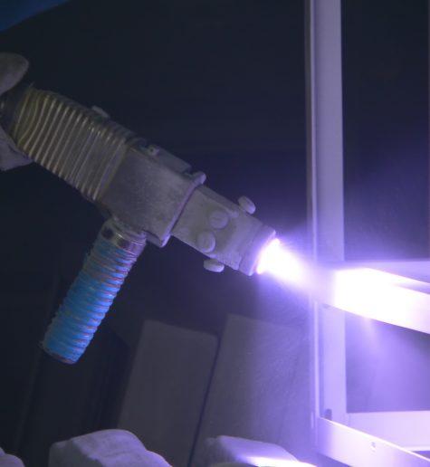 Видалення пилу від металізації виробів